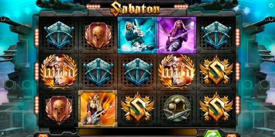 slot machine sabaton
