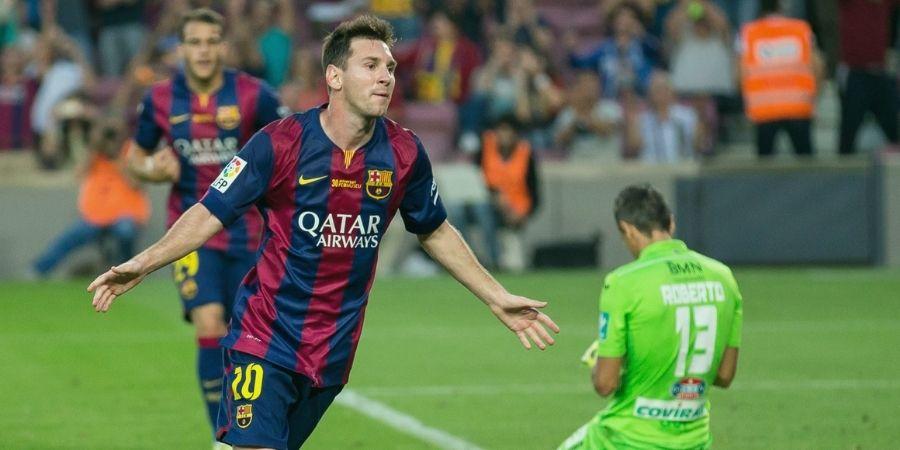 Jogador de futebol Messi