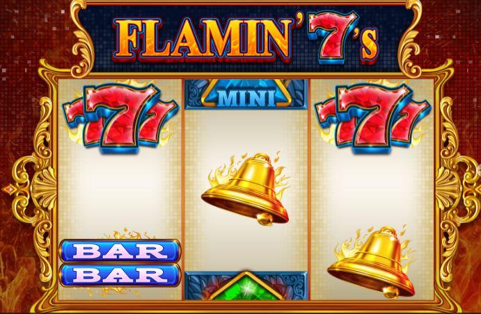 slot de 3 rolos flamin 7s
